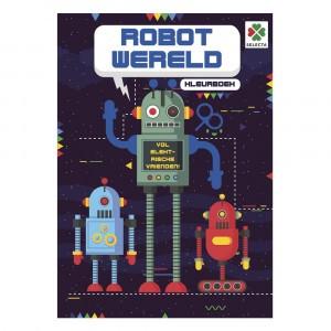 Selecta Kleurboek Robot Wereld