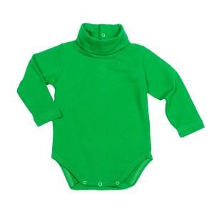 Mundo Melocoton Rolkraagbody Jersey Groen