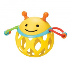 Skip Hop Roll-Around Rattle Bij