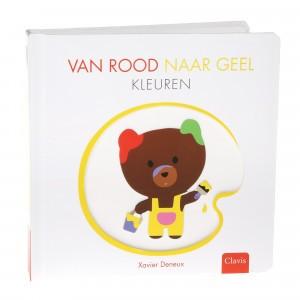 Clavis Boekje Van Rood naar geel - Kleuren