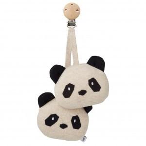 Liewood Wandelwagenspeelgoed Panda Creme de la Creme