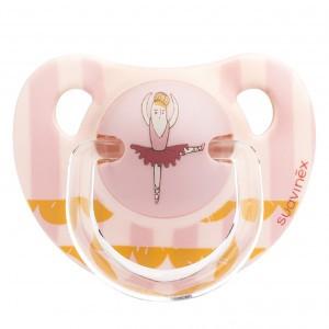 Suavinex Fopspeen Anatomisch Latex 0-6 maand Ballerina