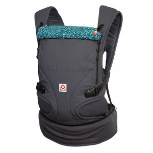 Ruckeli Babydraagzak Slim Rice Teal (Limited Edition)