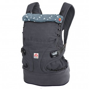 Ruckeli Babydraagzak Slim Birds Blue (Limited Edition)
