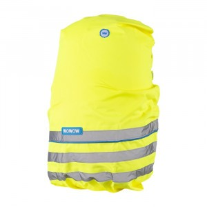 Wowow Reflecterende Rugzak Hoes Fun Yellow 25L
