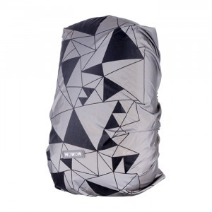 Wowow Reflecterende Rugzak Hoes Urban Street Silver 25L