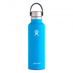 Hydro Flask Insulated Drinkfles Standard Mouth w/ Stainless Steel Cap (621 ml) Pacific