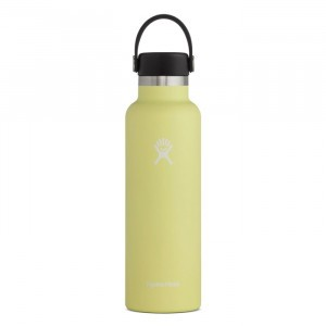 Hydro Flask Insulated Drinkfles Standard Mouth w/ Standard Flex Cap (621 ml) Pineapple