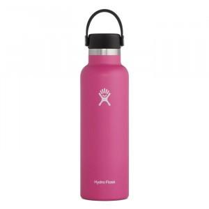 Hydro Flask Insulated Drinkfles Standard Mouth w/ Standard Flex Cap (621 ml) Carnation