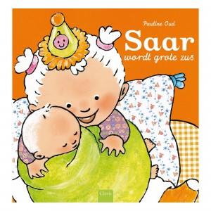 Clavis Leesboekje Saar wordt grote zus