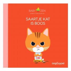 Oogappel Voorleesboekje Saartje Kat is boos