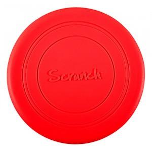 Scrunch Frisbee Red