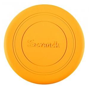 Scrunch Frisbee Mustard