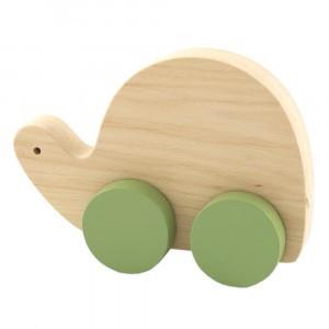 Pinch Toys Houten Duwfiguur Maxi Schildpad