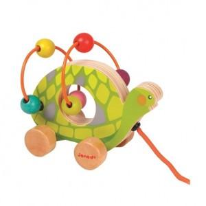 Janod Mini Looping Schildpad
