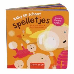 Clavis Leesboekje Baby op schoot Spelletjes