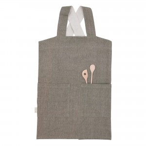 Fabelab Schort Chambray Olive