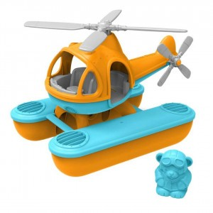 Green Toys Waterhelikopter Oranje