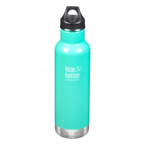 Klean Kanteen Thermische Drinkbus Insulated Classic Loop Cap (592 ml) Sea Crest