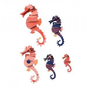 Studio Roof 3D Sea Animals - Sea Horses