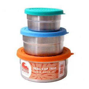 Blue Water Bento Cup Trio