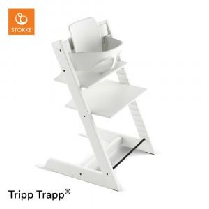 Stokke Tripp Trapp Stoel White + Babyset White