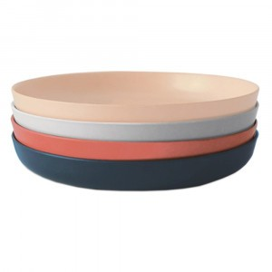 Ekobo Bord Klein Set (Blush, Cloud, Storm, Terracotta)