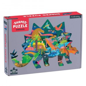 Mudpuppy Puzzel Shaped Dinosaurs (300 stukken)