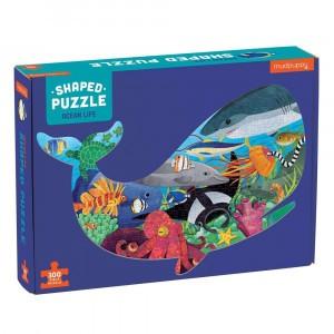 Mudpuppy Puzzel Shaped Ocean Life (300 stukken)