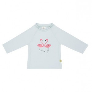 Lässig Splash & Fun UV T-Shirt Lange Mouwen Flamingo