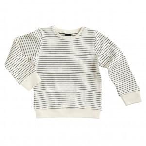 Mundo Melocoton T-shirt met Lange Mouwen Interlock La Linea Off White (maat 98-104)