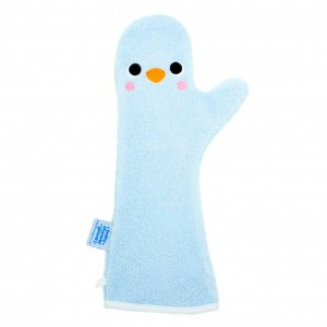 Invented 4 Kids Baby Shower Glove Pinguin Blauw