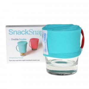 SnackSnap Snack Covers Set van 2 stuks Aqua