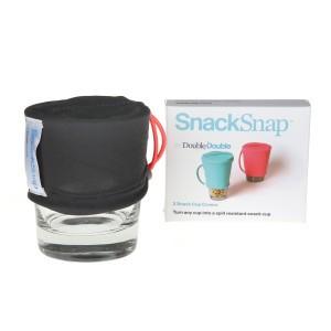 SnackSnap Snack Covers Set van 2 stuks Grijs