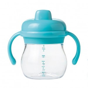 Oxo Tot Transitions Sippy Antilekbeker met handvaten Aqua