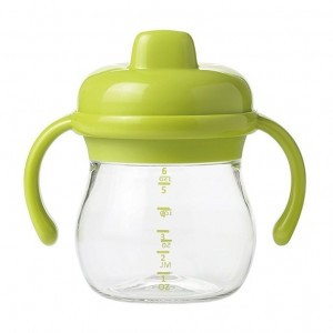 Oxo Tot Transitions Sippy Antilekbeker met handvaten Groen