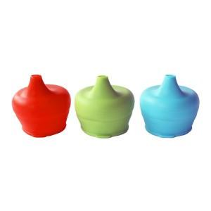 SipSnap Peuter Sandbox set van 3 stuks (Blauw, Groen, Rood)