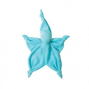 Peppa Knuffeldoekje Sisco Licht Blauw