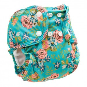 Little Lamb Sized Pocket Nappy Floral