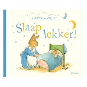 Ploegsma Leesboekje Pieter Konijn, Slaap lekker!