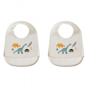 Liewood Silicone Slab Dino Mix (2 pack)