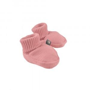 Forgaminnt Amber Yarn Baby Slofjes Ash Rose