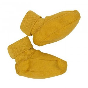 Wooly Organic Slofjes Golden Yellow