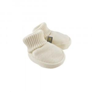 Forgaminnt Amber Yarn Baby Slofjes Milk Clouds