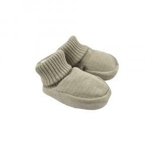 Forgaminnt Amber Yarn Baby Slofjes Sage