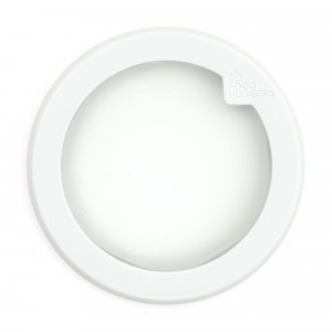 Food Huggers Lid Small Soft White