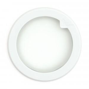 Food Huggers Lid Small Soft White