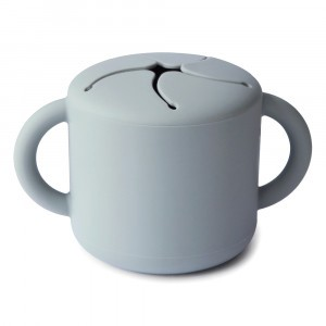 Mushie Snack Cup Stone