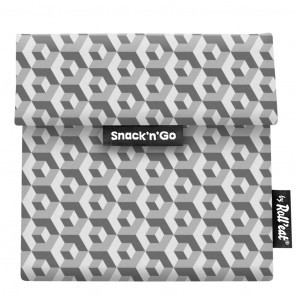 Roll'eat Snack'n Go Tiles Zwart