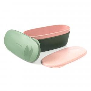 Light My Fire Snapbox Oval Bio (2-pack) Green/Pink